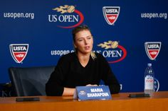 Maria Sharapova Photos: US Open: Previews