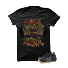 Real Recognize Real (Gucci) Black T-Shirt. SACRED SOCIETE