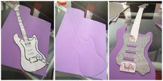 GUITARRA violetta