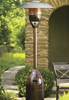 Extend the outdoor entertaining season with this commercial-quality outdoor heater.