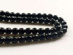 WHOLESALE 5 Strands Black Onyx Beads Natural by gemsforjewels