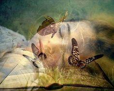 Met vlinderlichte dromerigheid.