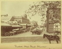 Turbot Street Brisbane before our time.  My sister worked in the bank in Turbot Street in the l970s