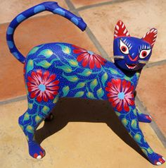 Oaxacan wood carvings - so beautiful I'm going to Oaxaca next year, so you will own some of these.