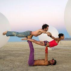 Acro yoga! Love!