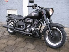 Harley-Davidson fatboy special all darked out