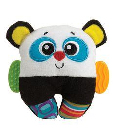 Look at this #zulilyfind! Panda Loop Rattle #zulilyfinds