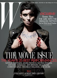 David Fincher Gets The Girl - Rooney Mara-Wmag