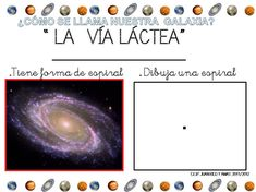 Archivo de álbumes - PROYECTO UNIVERSO 5 AÑOS Album, Kids, Blog, Milky Way, Astronomy, Recipes, Ancient Egypt For Kids, Planets Preschool, Space Projects
