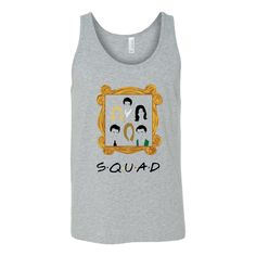 Friends Squad - Women's | Money Line Tees | Funny T Shirts & Apparel from TV Show & Movies