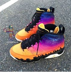 "Air Jordan 9 ""Over The City"""