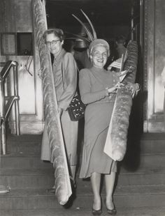Mine is bigger than Yours - Ladies with big breads 1940 ©Cleveland State University Library Special Collections