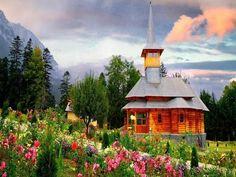 Sunset Village, Tatra Mountains, Poland