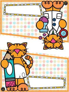 Page Borders, Borders And Frames, Classroom Labels, Classroom Setup, School Frame, Free Vector Art, Paper Flowers, Gift Tags, Cardmaking