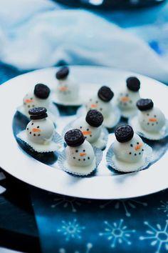 Winter Wonderland, Chevron, Snowmen & Penguins Birthday Party Ideas | Photo 7 of 29 | Catch My Party