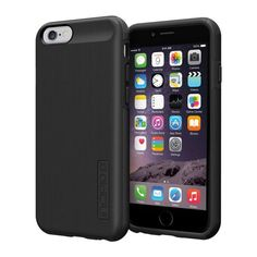 Incipio iPhone 6/6S Dual PRO Shine Case - Black / Black
