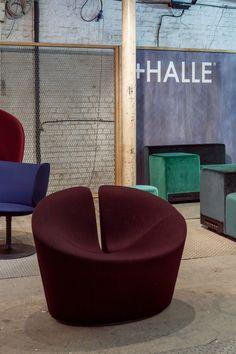 +Halle at Clerkenwell Design Week, London (2015) - True Love chair