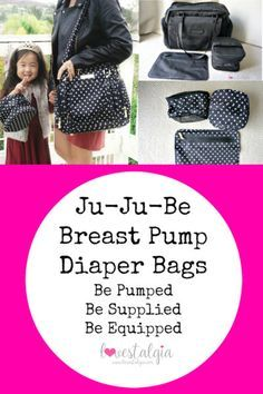 Ju-Ju-Be Breast Pump Bags: Be Pumped, Be Supplied, Be Equipped Comparisons
