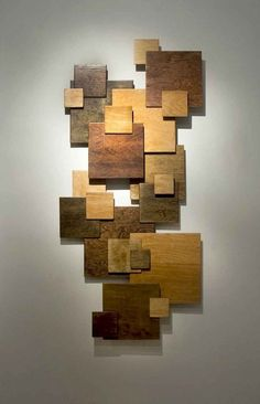 Add a Touch of Creativity to Your Blank Wall with These 16 Wall Art Decorations - Wall Decor Wooden Wall Decor, Wooden Art, Wooden Walls, Scrap Wood Art, Wooden Wall Design, Into The Woods, Diy Wall Art, Wall Art Decor, Wall Décor