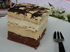 Creative Food, Tiramisu, Ale, Cheesecake, Food And Drink, Baking, Ethnic Recipes, Sweet, Pastries