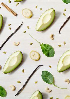 New Free Excellent Free 'Super Green' Smoothie - The Design Files Green Breakfast Smoothie, Super Green Smoothie, Green Smoothie Recipes, Fruit Smoothies, Smoothie Drinks, Juice Recipes, Super Greens, Food Design, Design Design