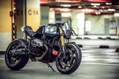 "Bmw R NineT Cafe Racer ""Paranoia"" by OneHandMade #motorcycles #caferacer #motos 