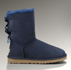 UGG Bailey Bow Navy 3280 Boots