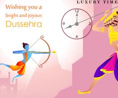 May this dussehra light up the hopes of happy times. ‪#‎HappyDussehra‬ ‪#‎LuxuryTime‬