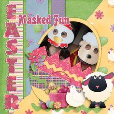 Easter Masked Fun
