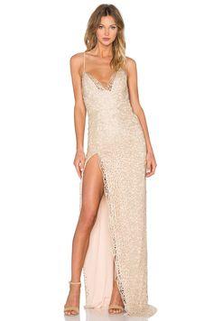 Gemeli Power Hotel Ge Dress in Blossom & Gold