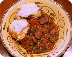 Crockpot Beef Stew with Dumplings by kae71463, via Flickr