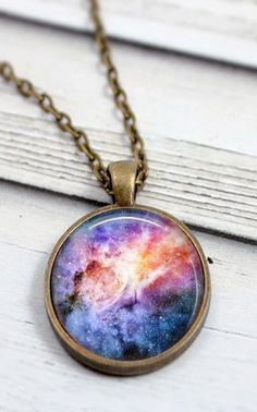 Galaxy Necklace //