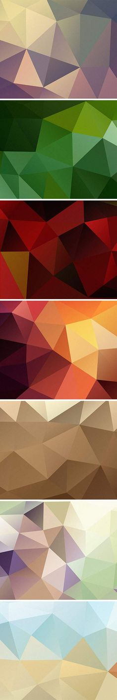 Textures - 7 HD Polygon Backgrounds