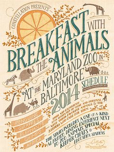 Livy Long / Poster design – Maryland Zoo
