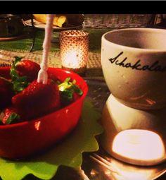 Schoko und Erdbeer