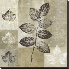 Tangletown Fine Art Essence of Nature I by Keith Mallett Fine Art Giclee Print on Gallery Wrap Canvas, 35 Canadian Art, Leaf Art, Stretched Canvas Prints, Find Art, Framed Artwork, Giclee Print, Canvas Art, Art Prints, Printing Process