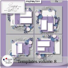 Templates volume 8 by Jessica art-design