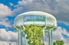 Jackson, Michigan Water Tower