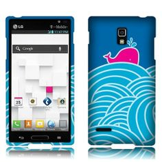 "This ""Wave"" W/ Whale 2D Silver Texture #Faceplate #Snap-On #Hard #Cover #Case will make your #LG #Optimus #L9 #P769 more cute. It offers the perfect way to add protection and create individual style for your phone! How come can you miss the cute and beautiful case at @Acetag with cheap price but high protection! $8.99"