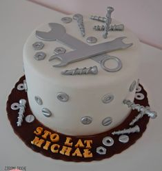 Hombre Cake, Mechanic Cake, Tool Box Cake, 40th Birthday Cakes For Men, Fathers Day Cake, Cake Gallery, Cake Decorating Tools, Novelty Cakes, Pretty Cakes
