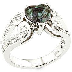 Elizaveta - Alexandrite ,white diamond and white gold ring. Unusual Jewelry, I Love Jewelry, Fine Jewelry, Jewelry Box, White Gold Jewelry, White Gold Rings, Gold Jewellery, Jewlery, Alexandrite Jewelry