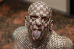 En la convenciòn del tatuaje en Colombia