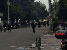 Explosiones y papas bomba en la Universidad Pedagógica 7 de octubre de 2016 - Publimetro Colombia