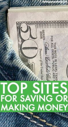 There are many great companies out there that will allow you to save and/or make more money. Check out this list to find out more!