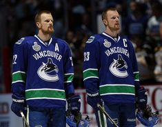 Thank you Daniel and Henrik Sedin for you you guys have Done you guys will be Missed but not Forgotten thank you for 17 Great Seasons.#Canucks