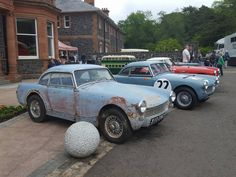 Austin Healey Sprite, Mg Midget, Sprites, Vintage Racing, Mk1, Dream Garage, Antique Cars, Vehicle, Classic Cars
