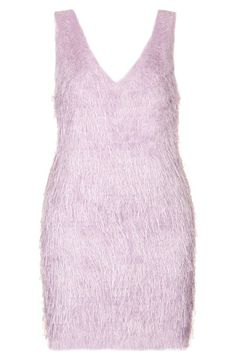 Pink and fun! Crushing on this Topshop fringed slipdress.