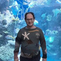 @sambarskyknitter has knit his way into our hearts.  Read how the viral sweater sensation found his flow - and charmed the internet. Link to blog in the bio! #beintheflow