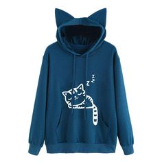 Sweatwater Women Oversized Pullover Spell Color Hooded Sweatshirts Jacket
