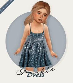 H&M Sparkle Dress - Recolor for The Sims 4 Source by JuuustAnyone dress The Sims 4 Kids, The Sims 4 Bebes, Sims 4 Children, Sims 4 Teen, Sims Four, Sims Cc, Sims 4 Toddler Clothes, Sims 4 Cc Kids Clothing, Sims 4 Mods Clothes
